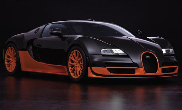 Siêu xe Bugatti Veyron Supersport
