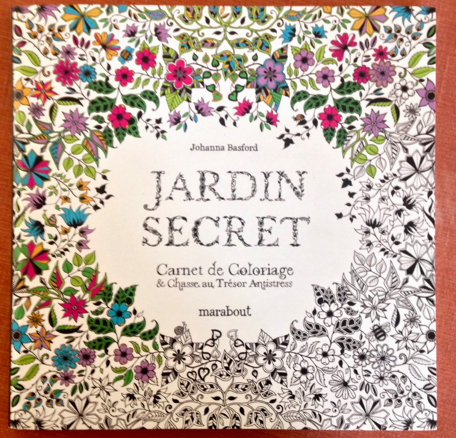 Johanna basford jardin secret for Akeo jardin secret 2015