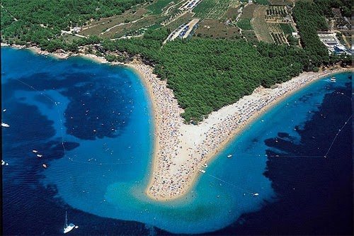 Zlatni-Rat Beach Beautiful nature Images and wallpapers