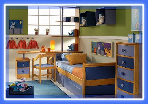 Decoraci n dormitorios juveniles con muebles de melamina for Dormitorios funcionales