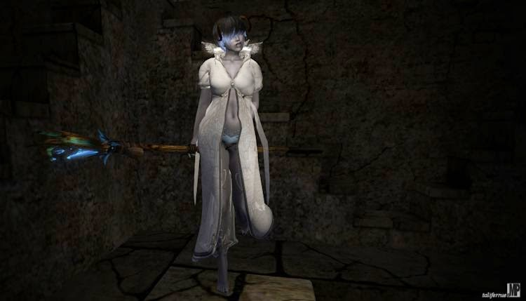 Second Life Roleplay featuring a dark tale of an Drow Elve.