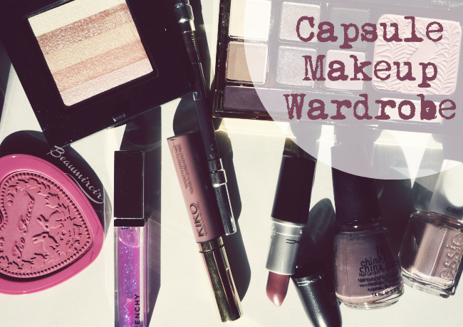 How to create a capsule makeup collection and why it can be both helpful and fun