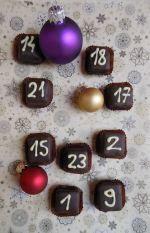 Csokis adventi naptárak
