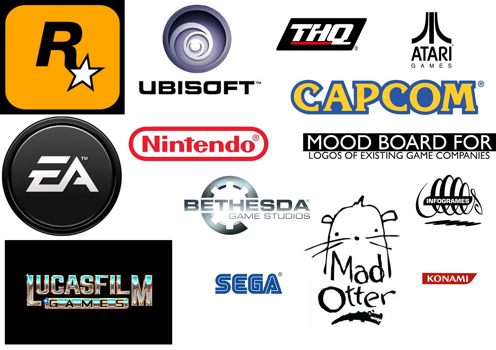 bethany mincher logos of game titles amp gaming companies