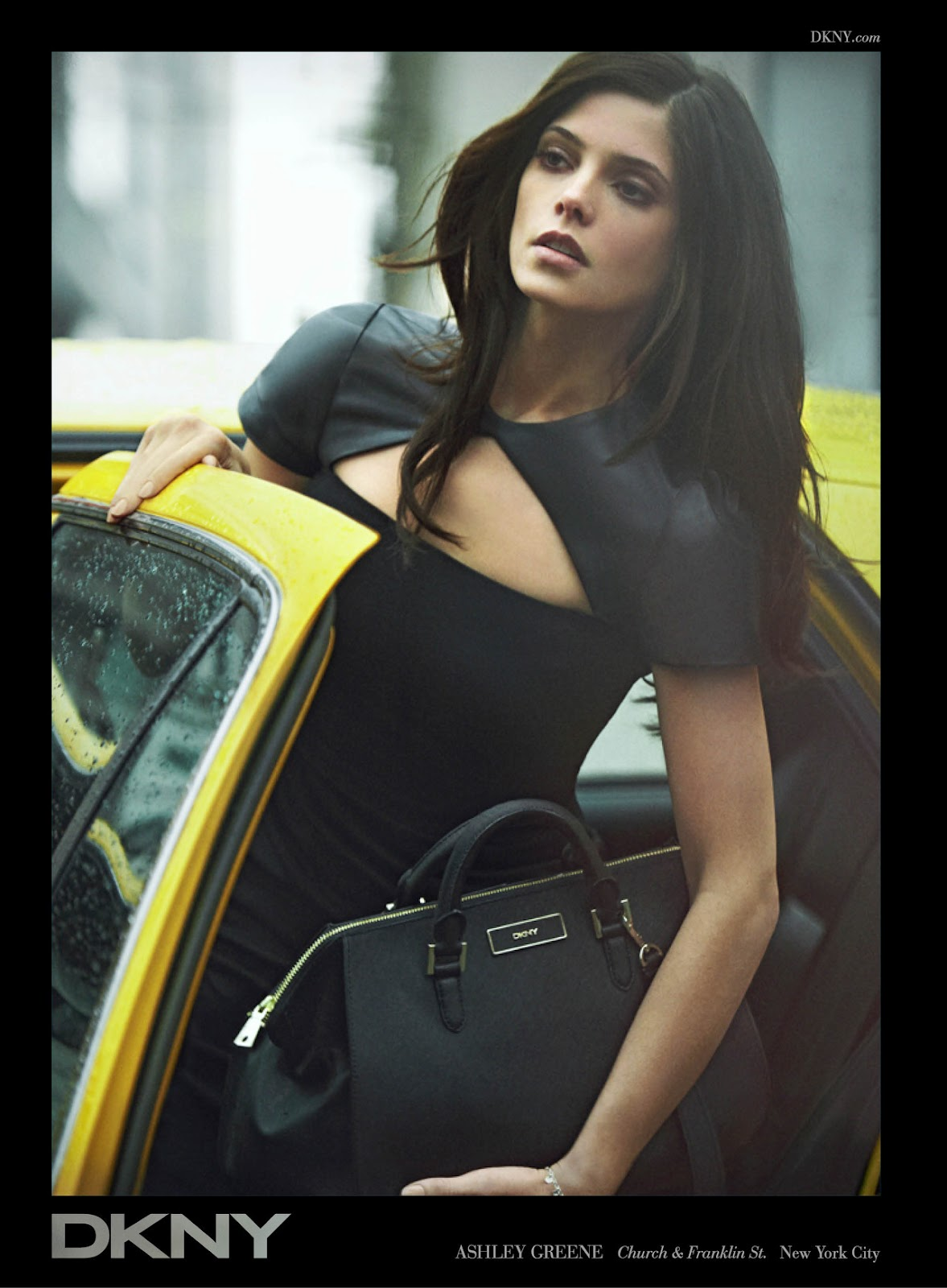 Ashley Greene For Dkny Fall 2012 Ad Campaigns