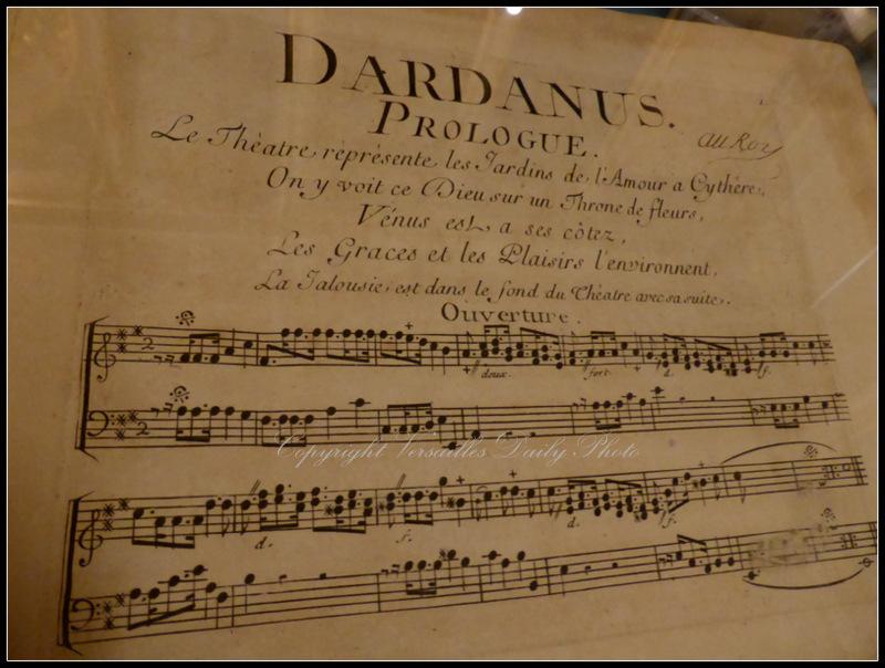 Dardanus Rameau Versailles