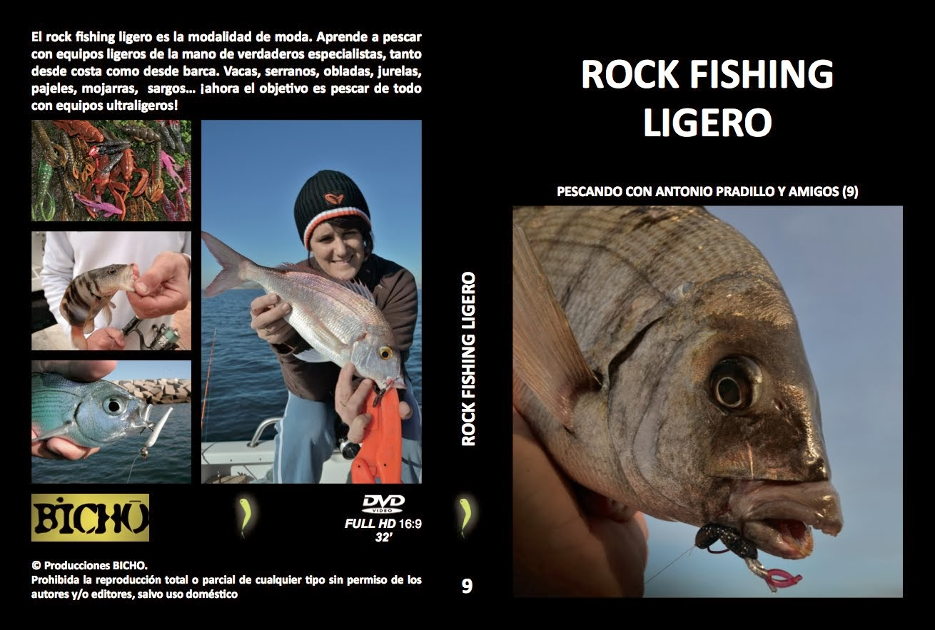 DVD ROCK FISHING LIGERO (ver trailer)