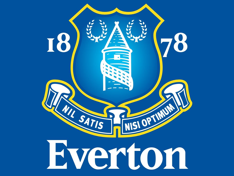 Everton Football Cake