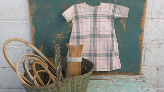 Early PA. Hand Made Doll Dress - $35.00