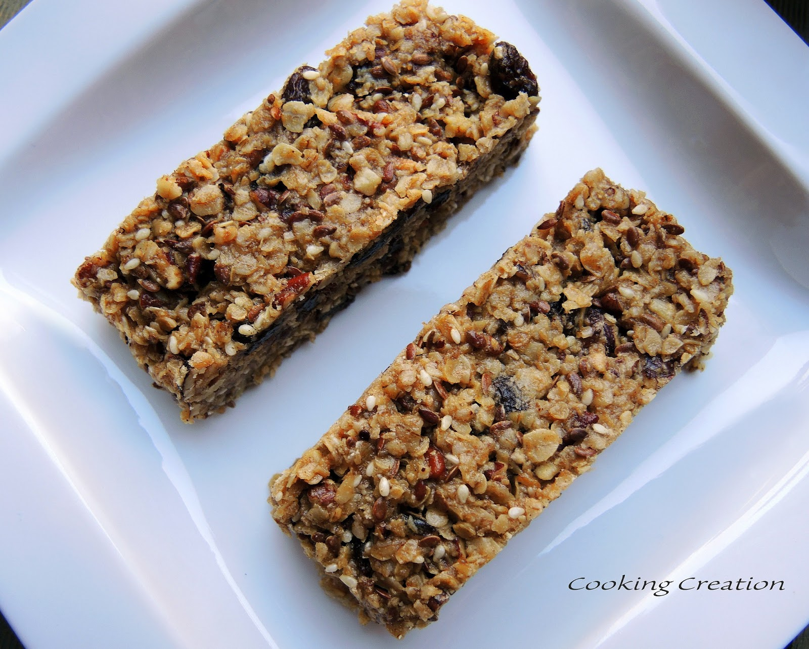 Cooking Creation: Homemade Chewy Granola Bars