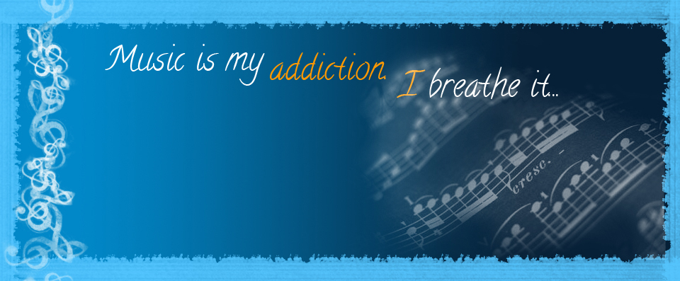 I breathe music.