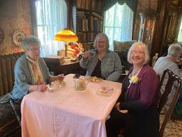 2021 Mothers Day Tea, Octagon House, Marshallville OH