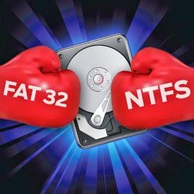Cara Mengubah File Sistem NTFS Menjadi FAT32