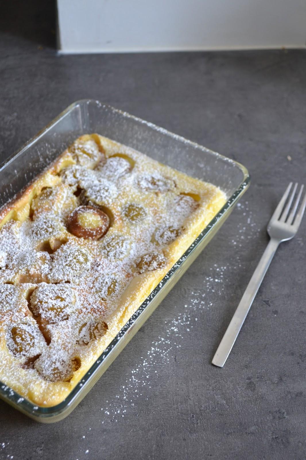 Puderzucker auf kuchen warm oder kalt