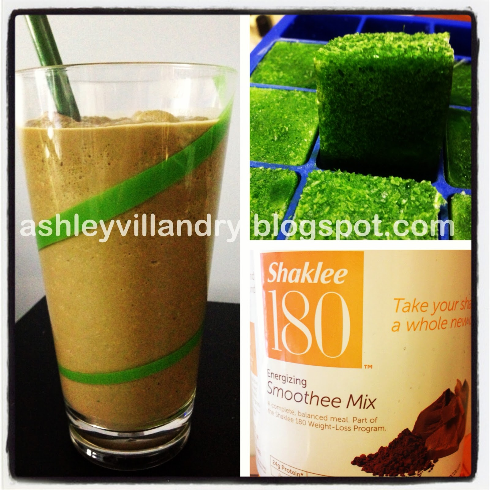 The healthy life awesome peanut butter banana spinach smoothie