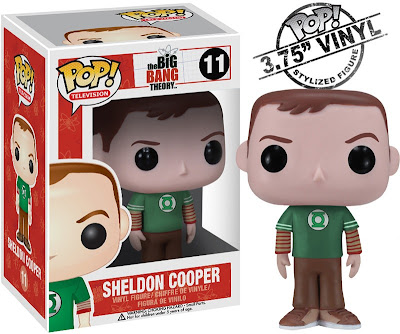 Sheldon The Big Bang Theory Pop! Television Vinyl Figure