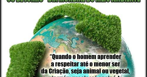 Dia Mundial Do Meio Ambiente Bixo Da Goiaba