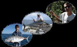 Turrum, tuna and kipper fishing
