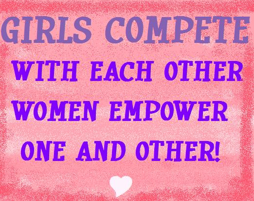Girls Compete With Each Other Women Empower One and Other. say no to Cake Decorating Haters.