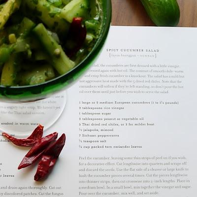 Being the Secret Ingredient: Spicy Cucumber Salad