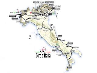 CICLISMO-Giro de Italia 2013