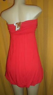 vestido TQC vermelho  estilo balone mide