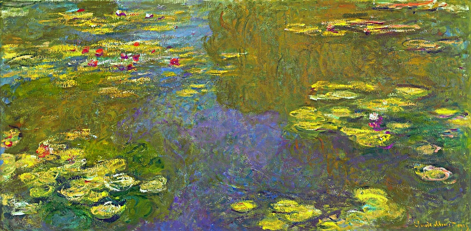 ART & ARTISTS: Claude Monet - part 24 1897 - 1922 Water Lilies