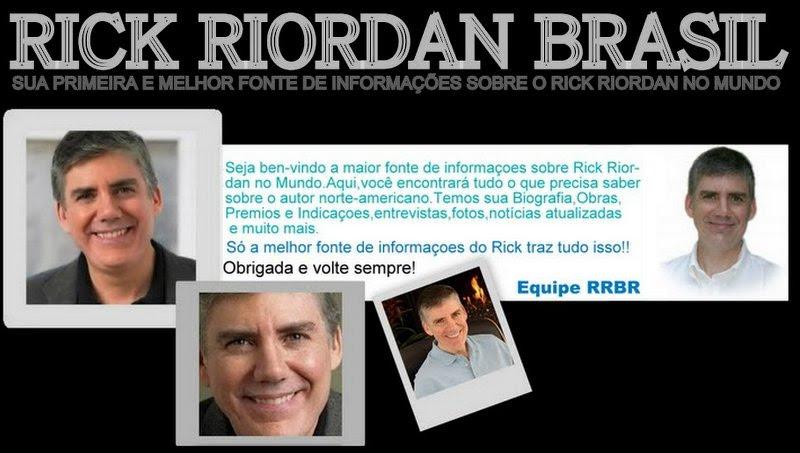 RICK RIORDAN BRASIL || SUA FONTE #1 SOBRE O AUTOR