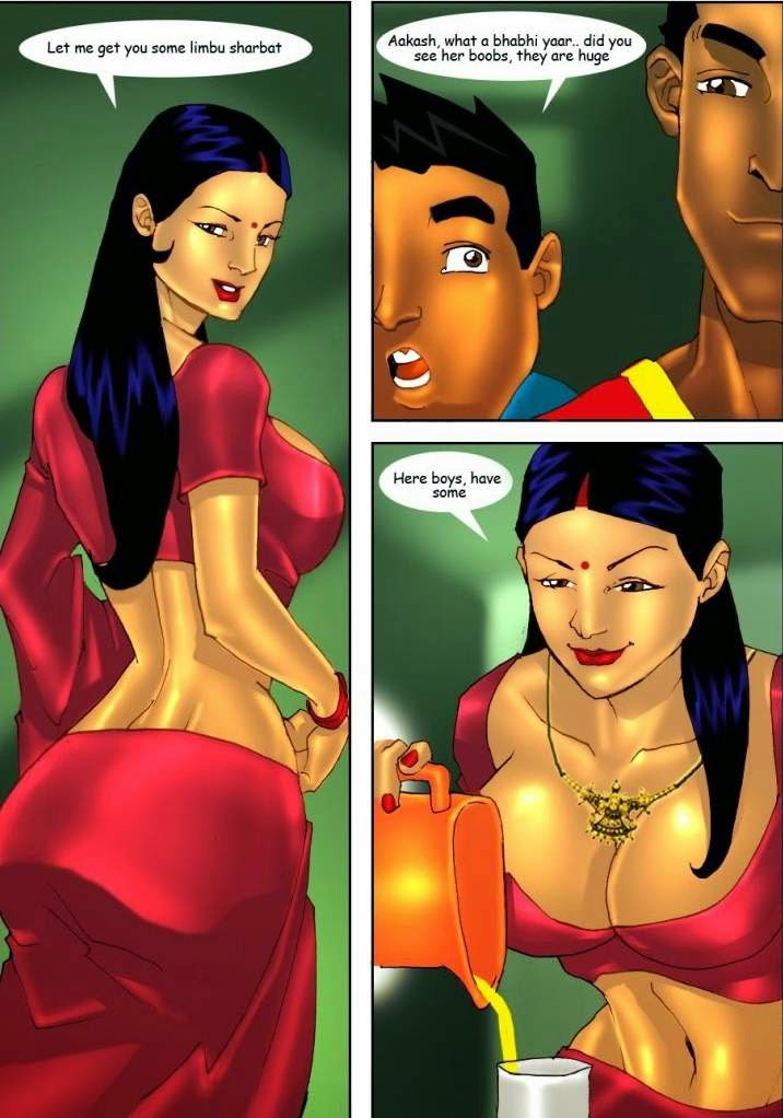 Aunty having fun with small Boys who plays cricket - Part 1 - Sex Comics in English