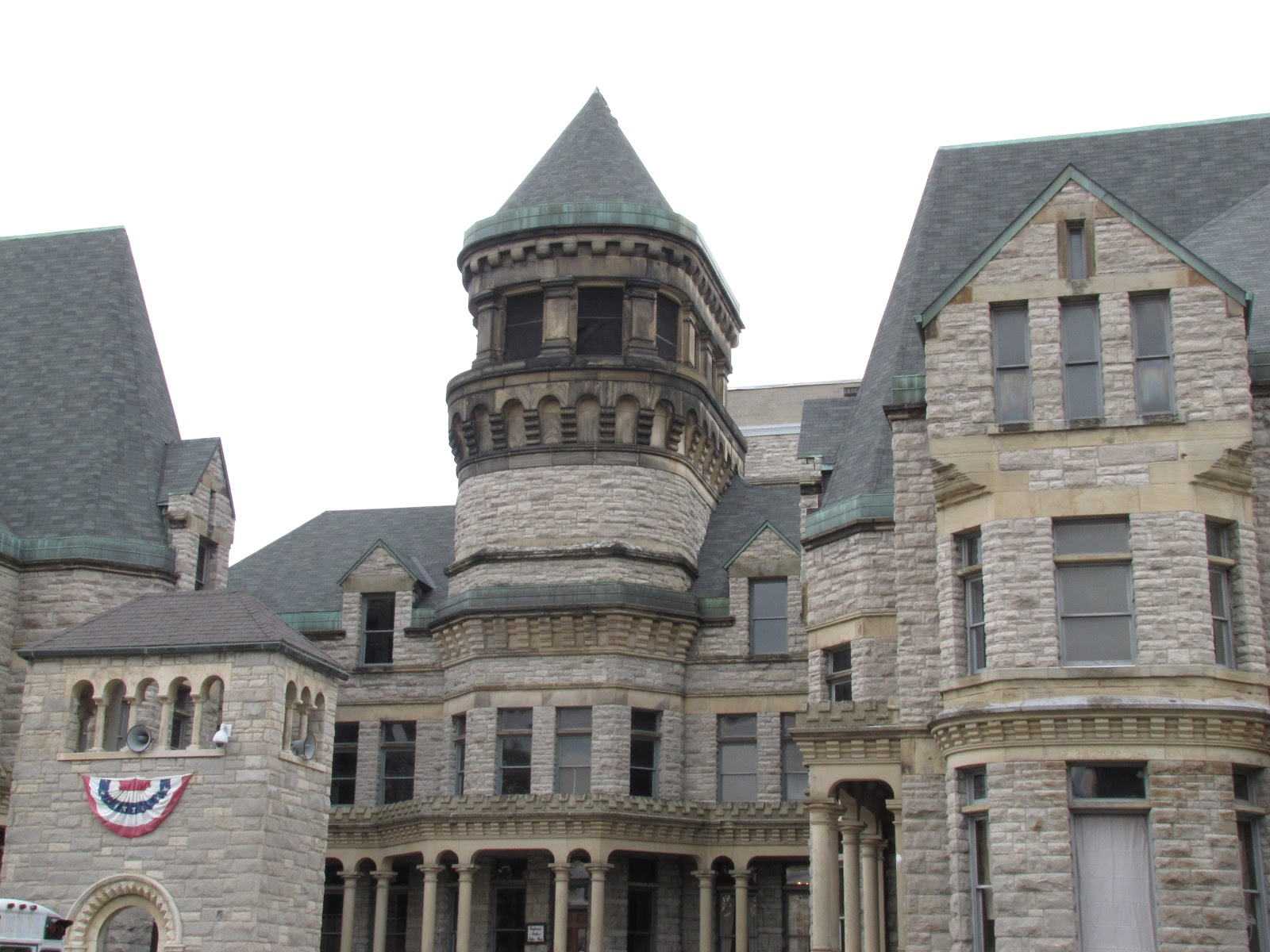 Visiting the haunted ohio state reformatory
