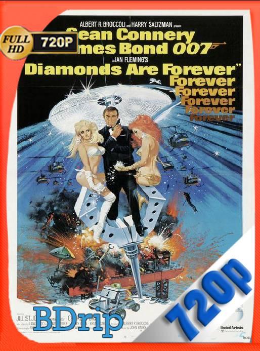 007 Los Diamantes Son Eternos (1971) BDRip [720p] [Latino] [GoogleDrive] [RangerRojo]