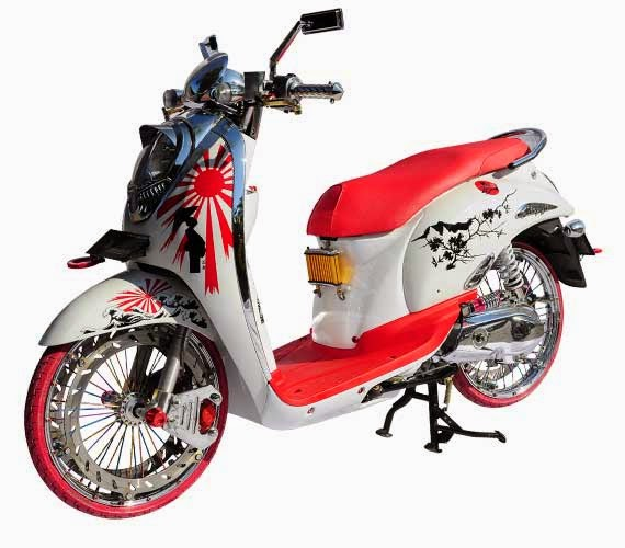 Aneka Modifikasi: Kumpulan Modifikasi Motor Honda Scoopy ...