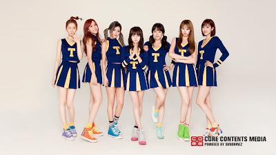 Foto Terbaru Dari Aplikasi Official T-ara di Android