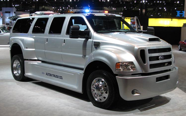 Ford F650 Automobile Roar