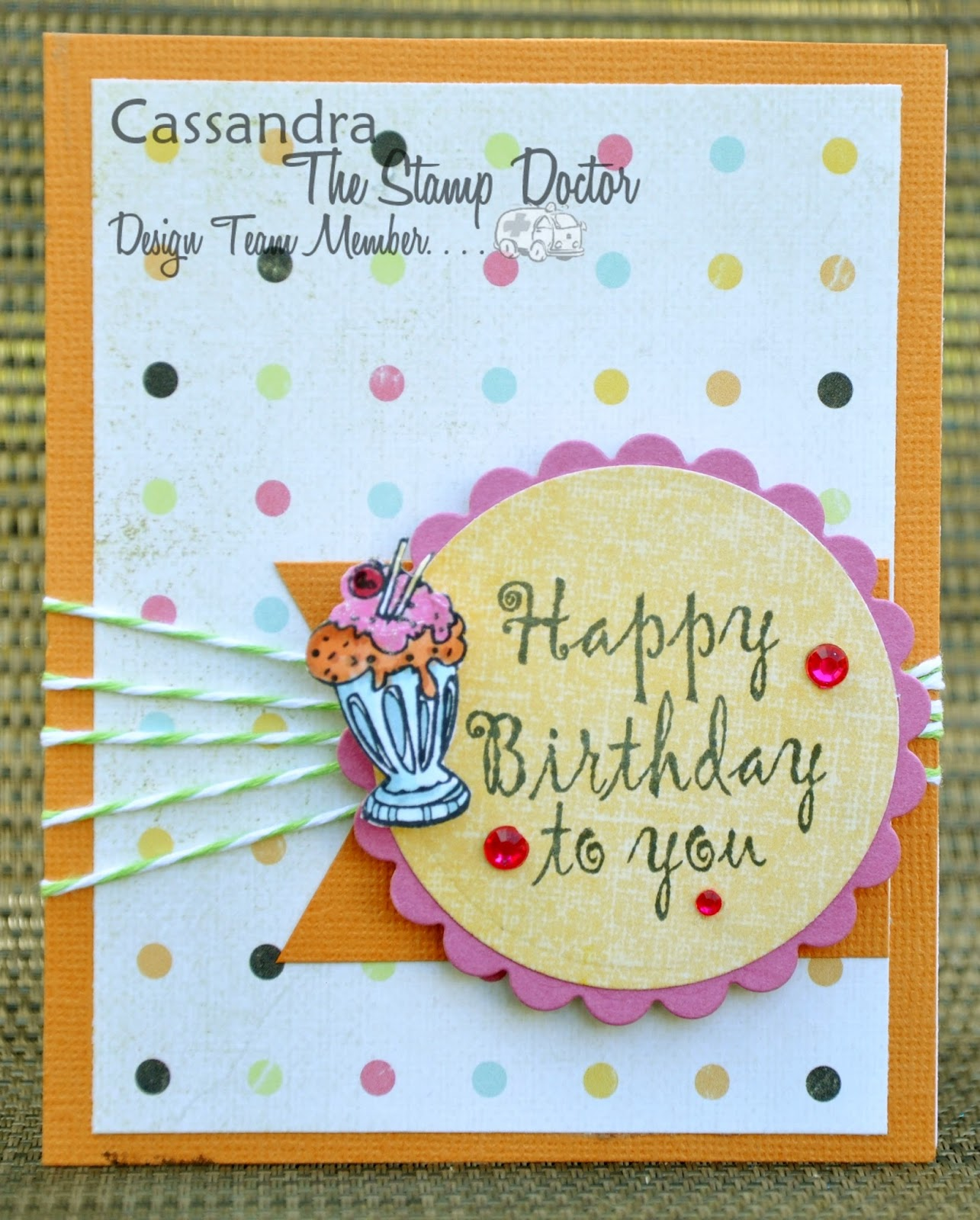 The Stamp Doctor Happy Birthday – Happy Birthday Card for Doctor