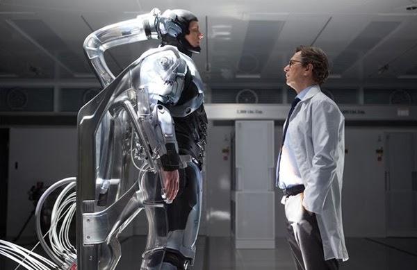 Gary Oldman en el remake de Robocop