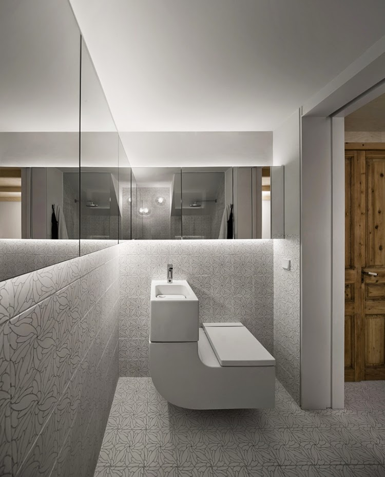Led Lights Behind Bathroom Mirror Light Behind Mirror Houzz
