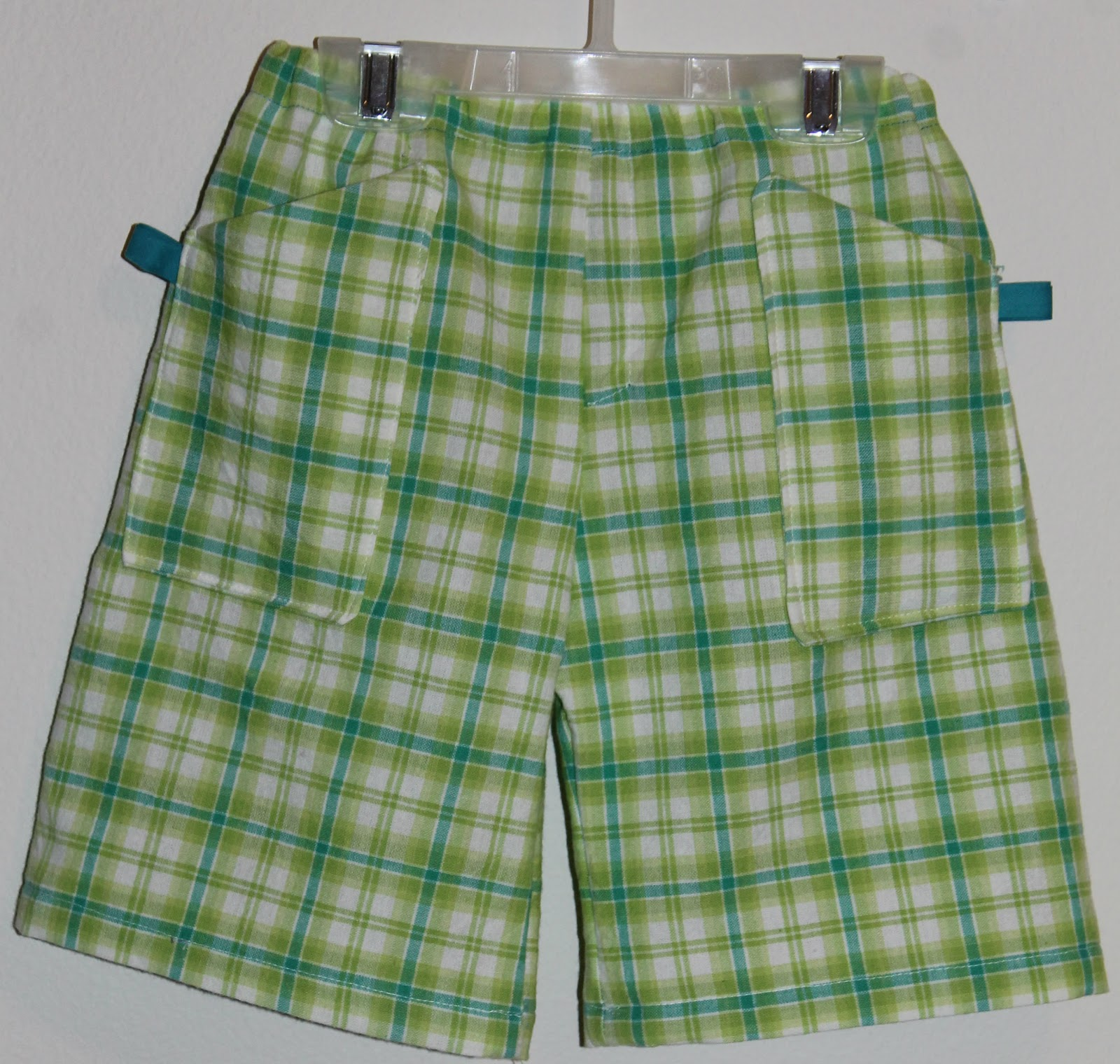 How to sew shorts 4