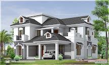 2951 Sq.ft. 4 Bedroom Bungalow Floor Plan And 3d View