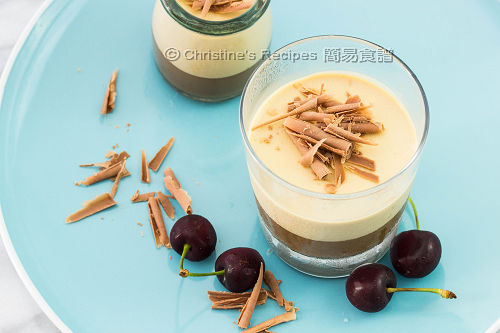 咖啡奶凍  Layered Coffee Panna Cotta02