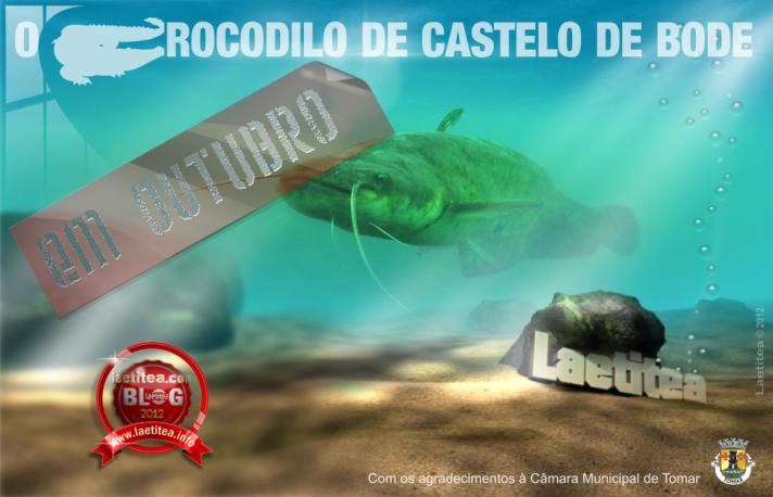O Crocodilo de Castelo de Bode - by Laetitea
