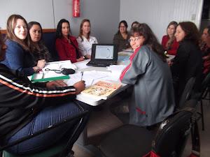 Grupo do professores do 1º ano - 31/10/2012