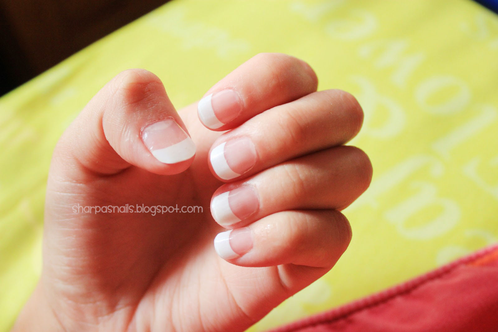 Sharp As Nails (A Nail Art Blog): French Manicure Acrylic Nails