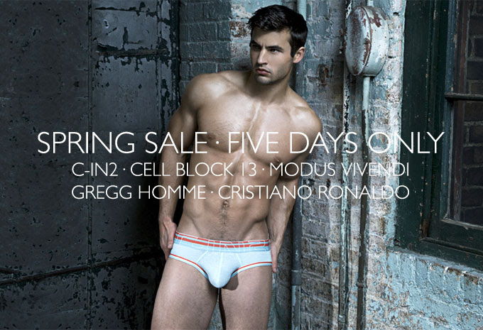 Spring Sale at International Jock
