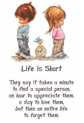Life quotes life is short