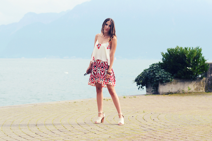 alison liaudat, blog mode suisse, fashion blogger, switzerland, zara, aztec, aldo, lake, léman, geneva, genève
