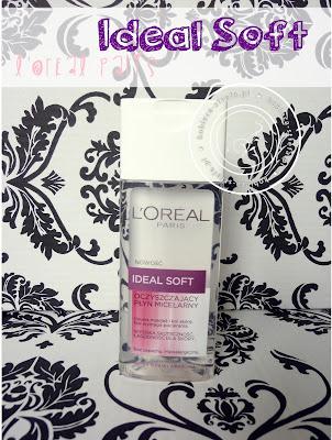 L'Oreal Paris – Nowość - Ideal Soft – oczyszczający płyn micelarny