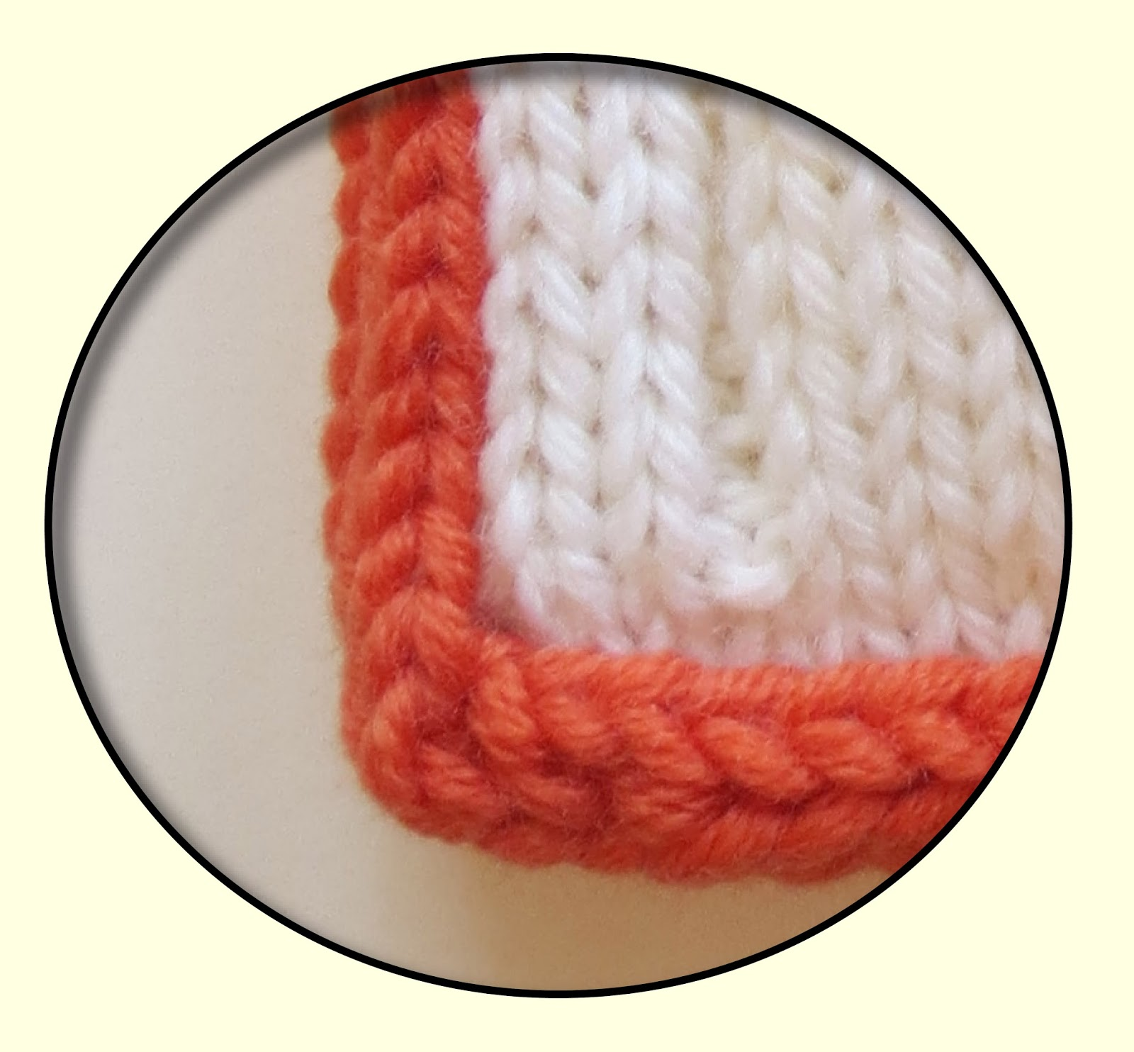 Techknitting I Cord Bind Off I Cord Selvedge Border