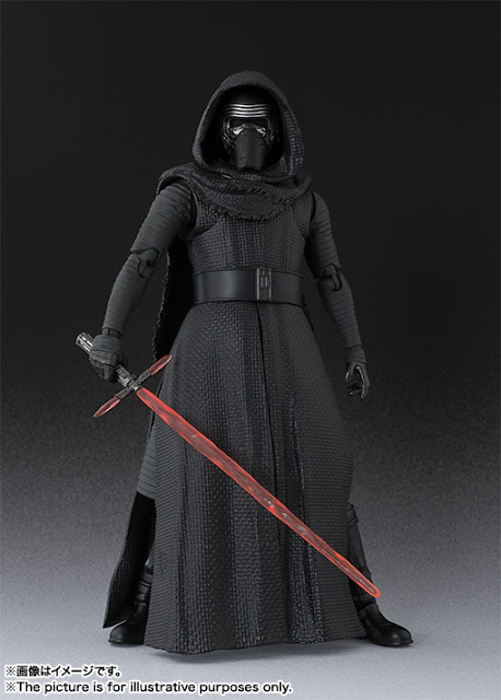S.H.Figuarts Kylo Ren from Star Wars Series