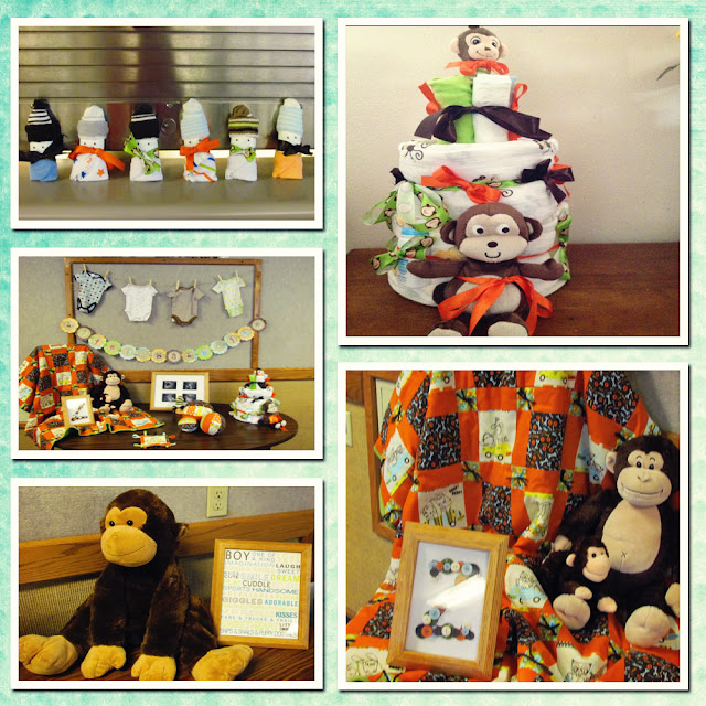 download image monkey baby shower decorations pc android iphone and